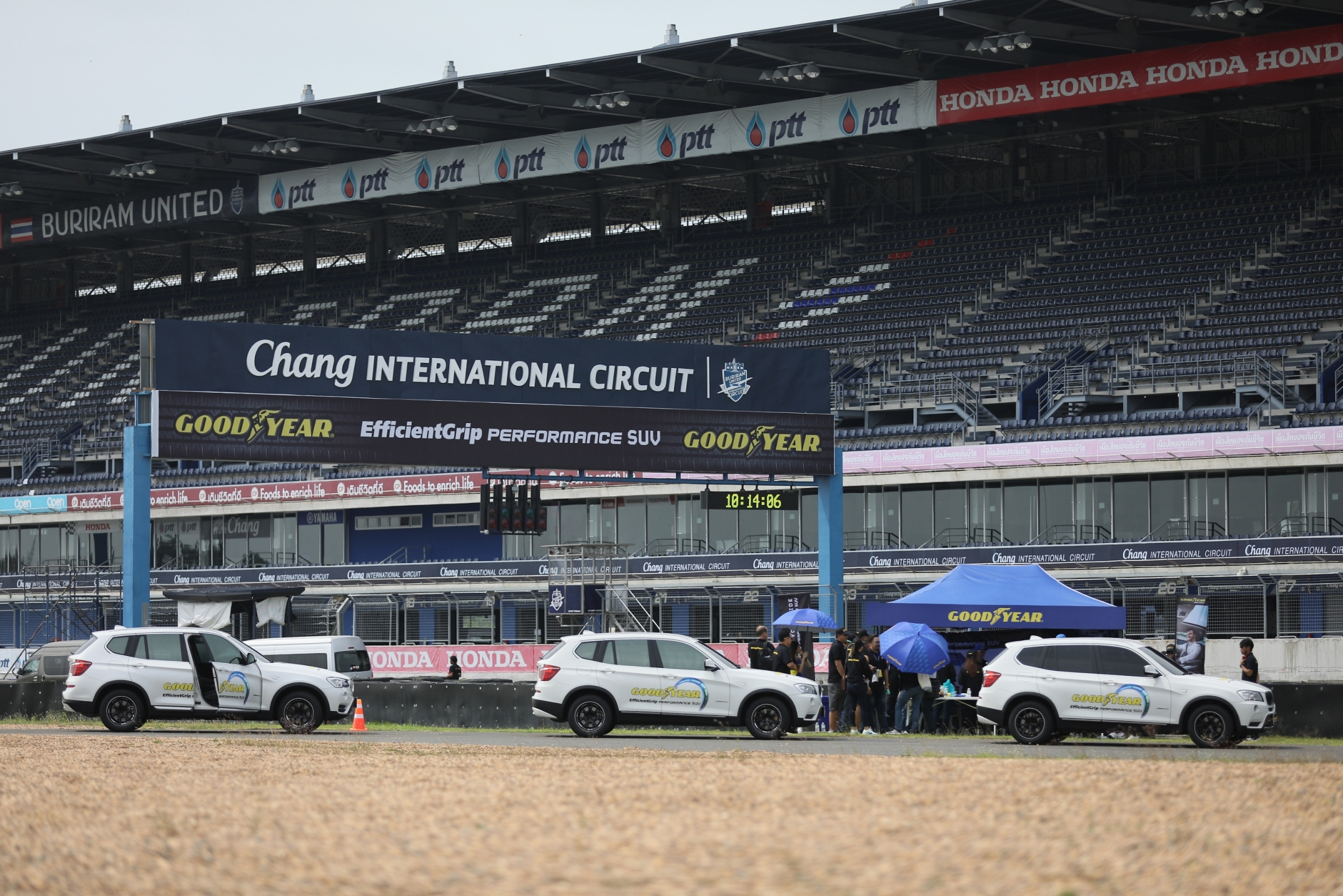2 Goodyear於八月初在泰國布里蘭(Chang International Circuit, Buriram)舉辦休旅車胎Efficientgrip Performance SUV亞太區新胎發表會